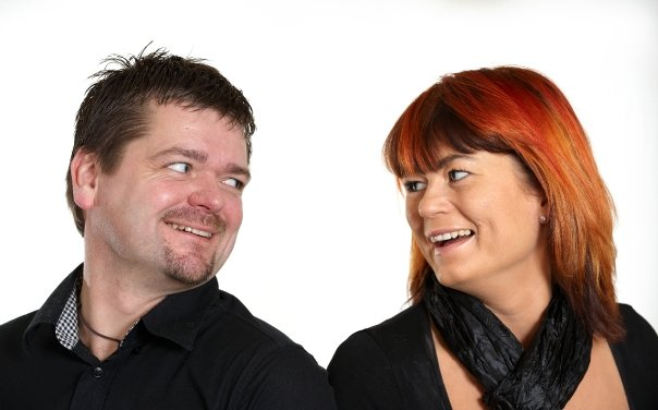 Berith Siegumfeldt og hendes mand Mogens Siegumfeldt