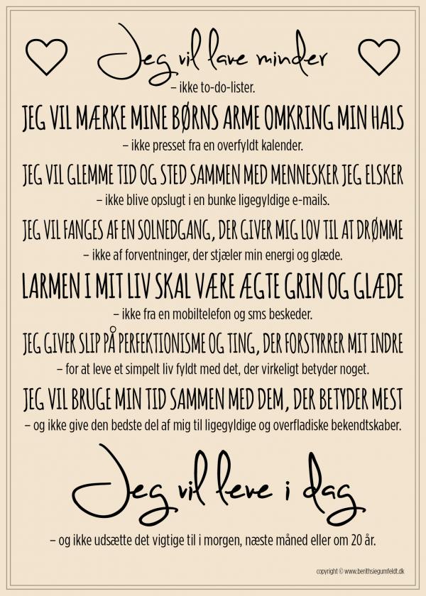 Berith Siegumfeldt Plakat