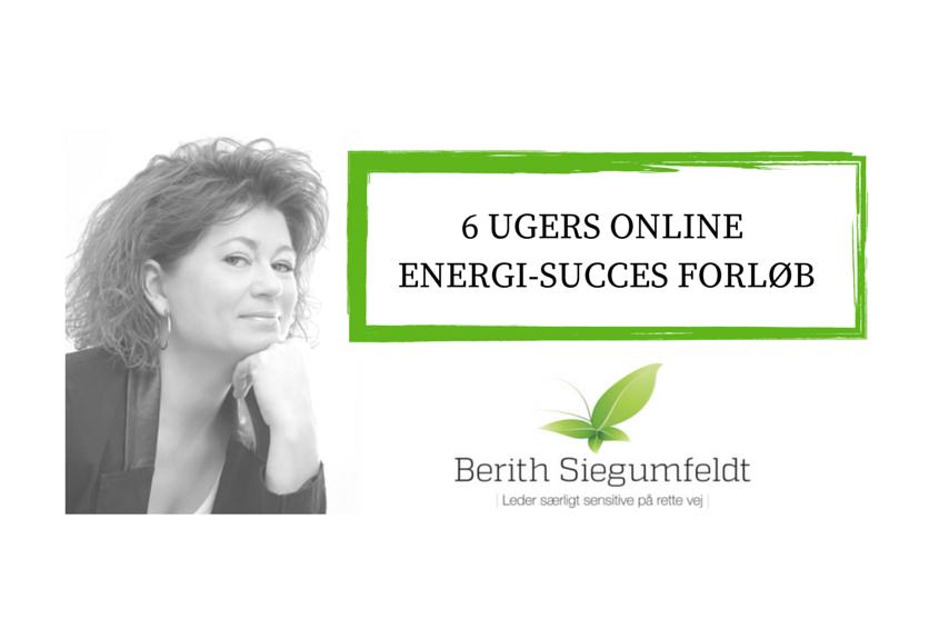 Energi Succes Forløb for dig, der er særlig sensitiv og særligt sensitiv