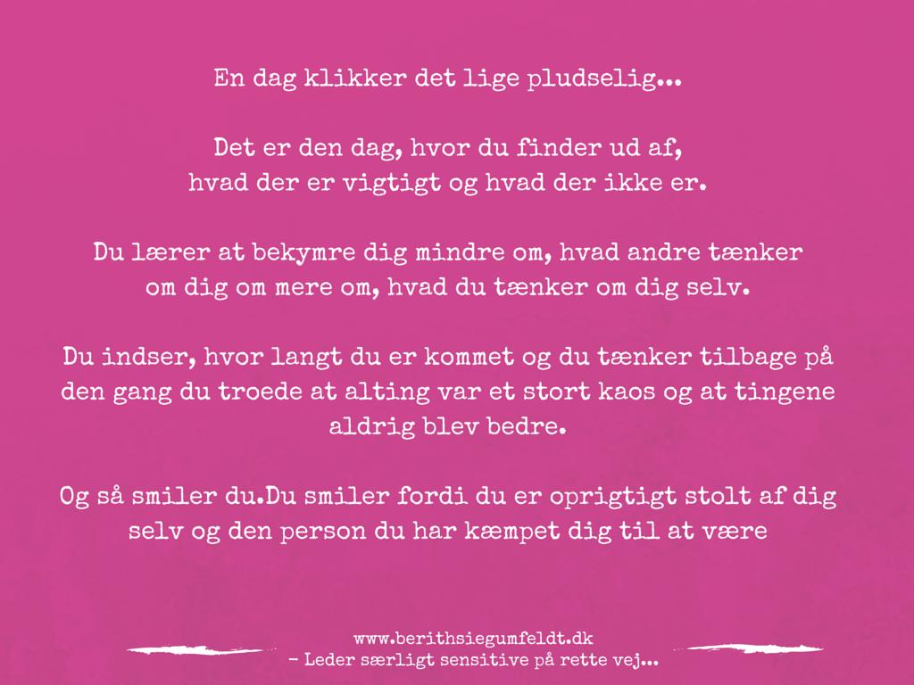 citater om mig selv Inspirerende citater   Berith Siegumfeldt citater om mig selv