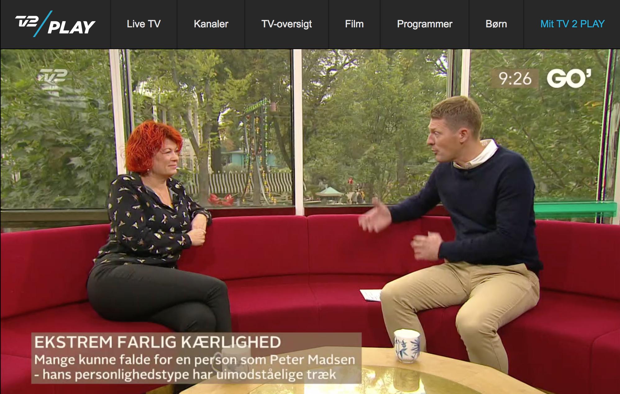 Berith Siegumfeldt - Tv Go morgen Danmark