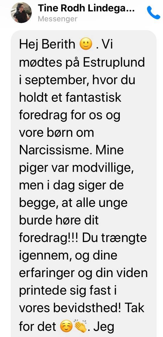 Berith Siegumfeldt anmeldelse