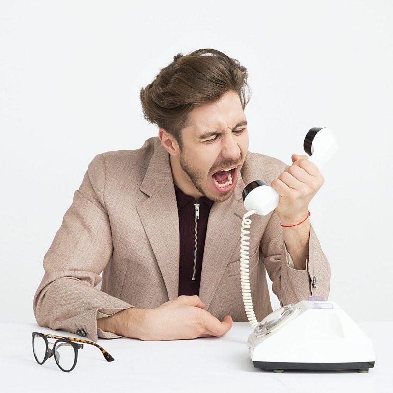 Narcissistiske kunder, klienter og patienter