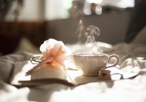 Særlig sensitiv - alene med en kop kaffe